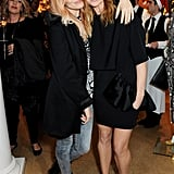 Sienna Miller and Stella McCartney at the Stella McCartney Christmas lights switch-on.