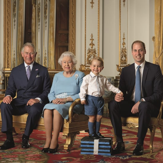 Queen's Birthday Stamp Photo Shoot With Prince George
