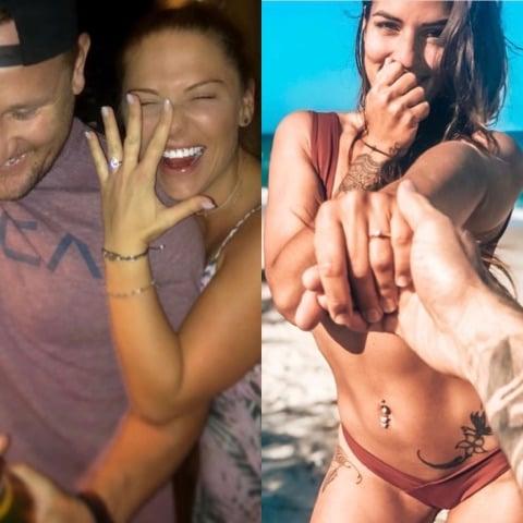 Tara Pavlovic and Elora Murger Engaged