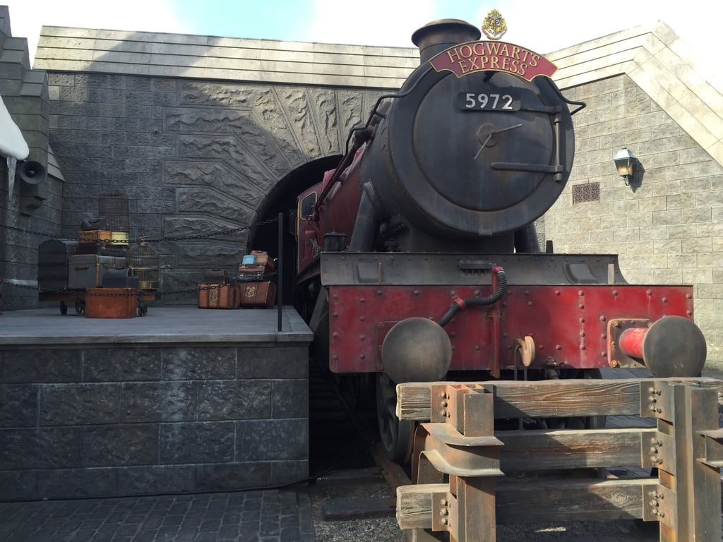 You can get a photo opportunity with the Hogwarts Express conductor.