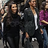 Pictures of Kim and Ciara