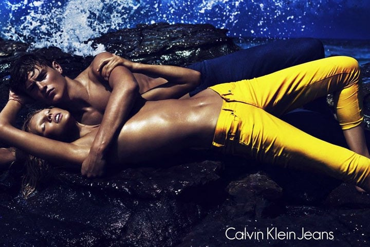 Calvin Klein Jeans Spring 2012 Ad Campaign