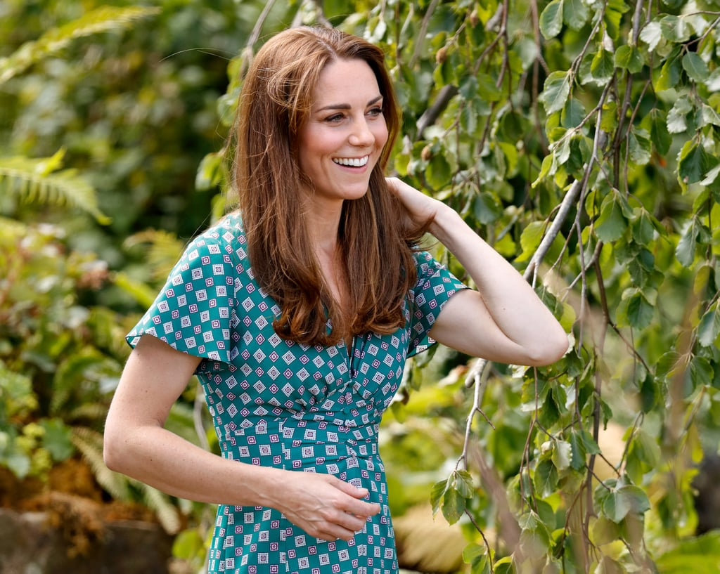 Kate Middleton's Wavy Ends, 2019