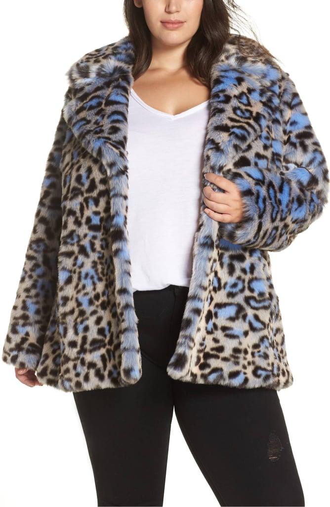 de4586650591 Avec Les Filles Animal Print Faux Fur Coat | Taylor Swift Style ...
