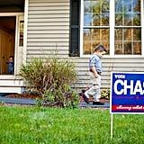 Little Boy Running For President