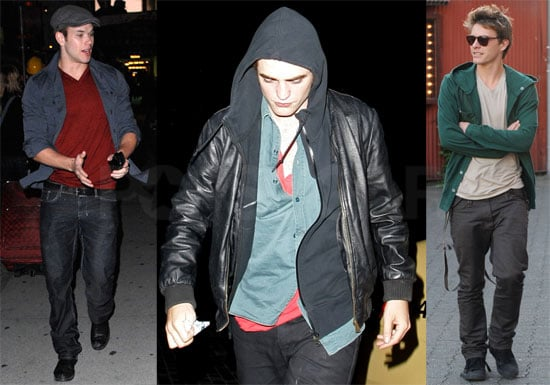 Photos of Robert Pattinson, Kellan Lutz, Xavier Samuel, Billy Burke in Vancouver