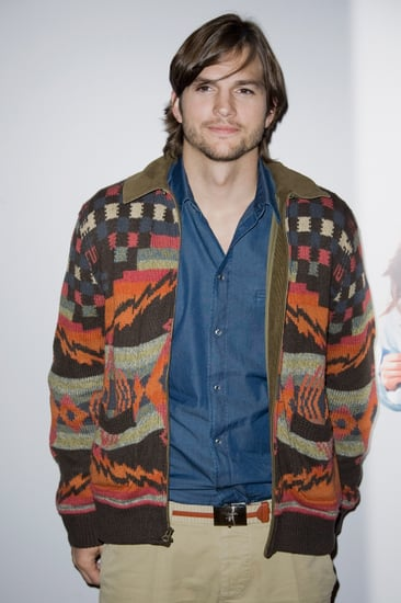 Pictures of Ashton Kutcher at No Strings Attached Sex Friends Press Call in Paris