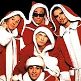 Backstreet Boys in Santa Robes