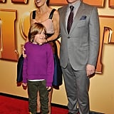SJP, James, and Matthew stepped out as a family on the red carpet.