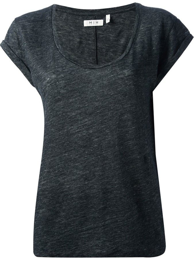MIH Jeans Scoop Neck T-Shirt ($119)