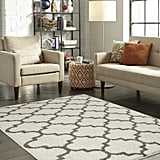 Mainstays Trellis 2-Color Shag Area Rug