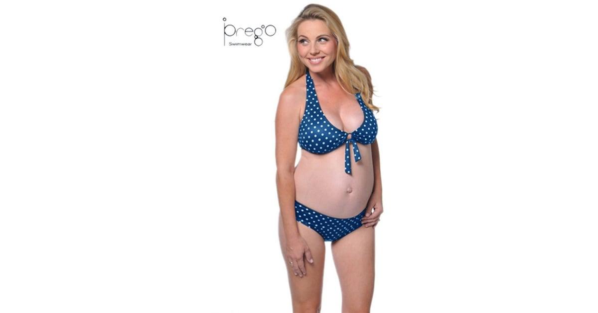 1b75957e61a Maternity Dot Two Piece Set   Maternity Bikinis 2017   POPSUGAR ...