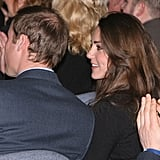 Prince William and Kate Middleton were together in January 2010 for another Royal Air Force graduation.
