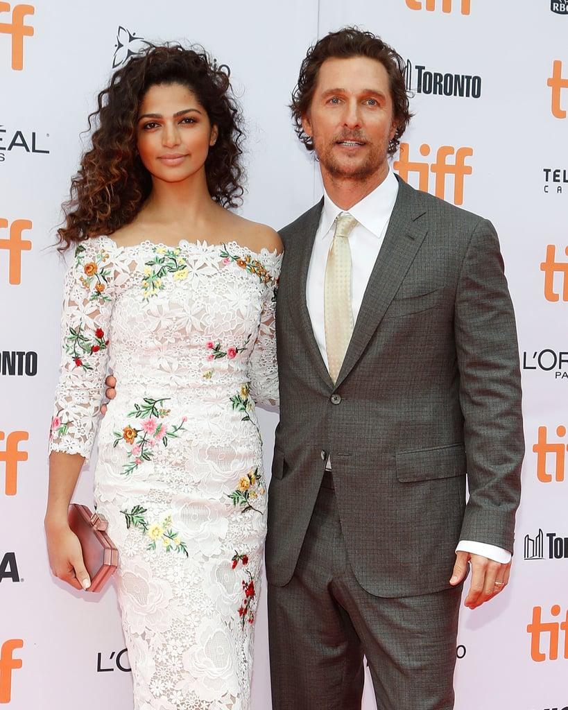 Matthew McConaughey and Camila Alves Make 1 Beautiful Pair in Toronto