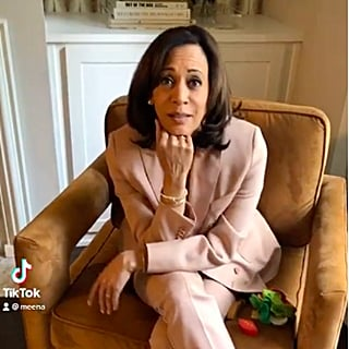 Kamala Harris Is Busy Chuckling Over This Impeachment Joke, but We're Busy Staring at Her Socks