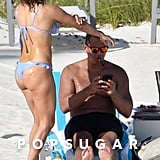 Jennifer Lopez and Alex Rodriguez in the Bahamas March 2019