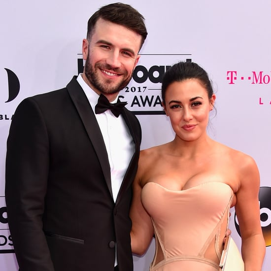 Sam Hunt and Hannah Lee Fowler at the 2017 Billboard Awards