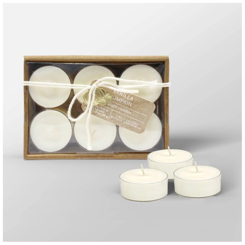 Vanilla Pumpkin Tealight Candle Set