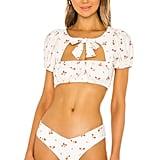 WeWoreWhat Lily Bikini Top and Delilah Bikini Bottom