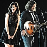 Joy Williams and John Paul White performed at the 2012 Grammys.