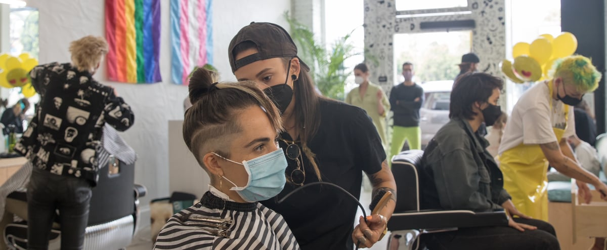 Gender-Neutral Barbershop Founder Aims to Change Her Corner of the World, One Haircut at a Time