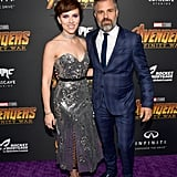Pictured: Scarlett Johansson and Mark Ruffalo