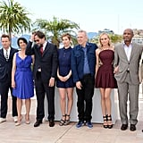 Jury members Alexander Payne, Raoul Peck, Diane Kruger, Jean Paul Gaultier, Emmanuelle Devos, Nanni Moretti, Hiam Abbass, Ewan McGregor, and Andrea Arnold linked up at the jury photocall during the 65th Annual Cannes Film Festival.