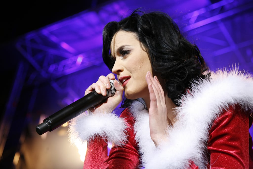 Photos of Katy Perry In the Christmas Spirit