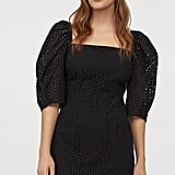 H&M Eyelet Embroidery Dress