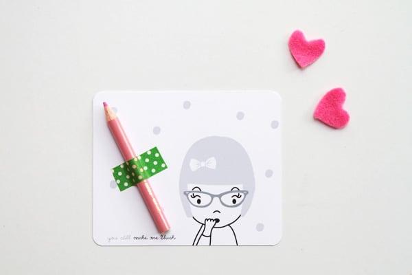 Make Me Blush Valentine's Printable