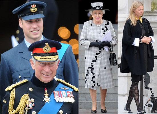 Photos of Prince William and the Royal Family at Service to Mark End of Iraq Conflict, Prince William and Jodie Kidd Pictures