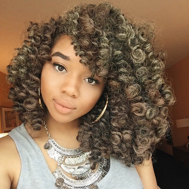 Swell Black Braided Hairstyles With Extensions Popsugar Beauty Short Hairstyles For Black Women Fulllsitofus
