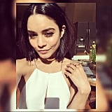 """Who needs a lob when you can have a bb (blunt bob)!"" We hear you Vanessa Hudgens, we're loving this sleek new look on the star."