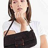 Corduroy Baguette Bag