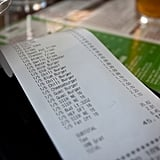 When you go out, you always want to split the bill exactly, no matter what.