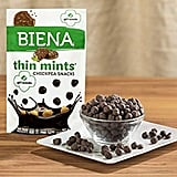 Biena Girl Scouts Thin Mints Dark Chocolate Crunchy Chickpea Snacks