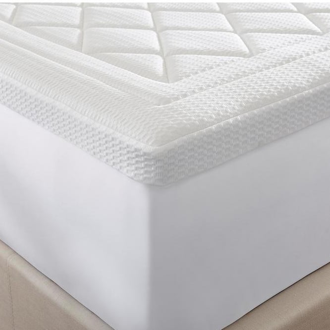 Home Decorators Collection 3 in. Quilted Gel Memory Foam Full Mattress Topper