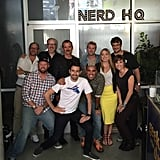 He participated in the Nerd HQ 2015 panel at Comic-Con.