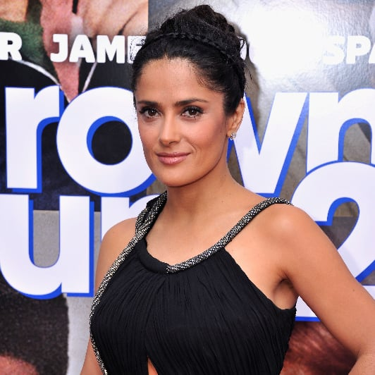 Salma Hayek Headband Braid