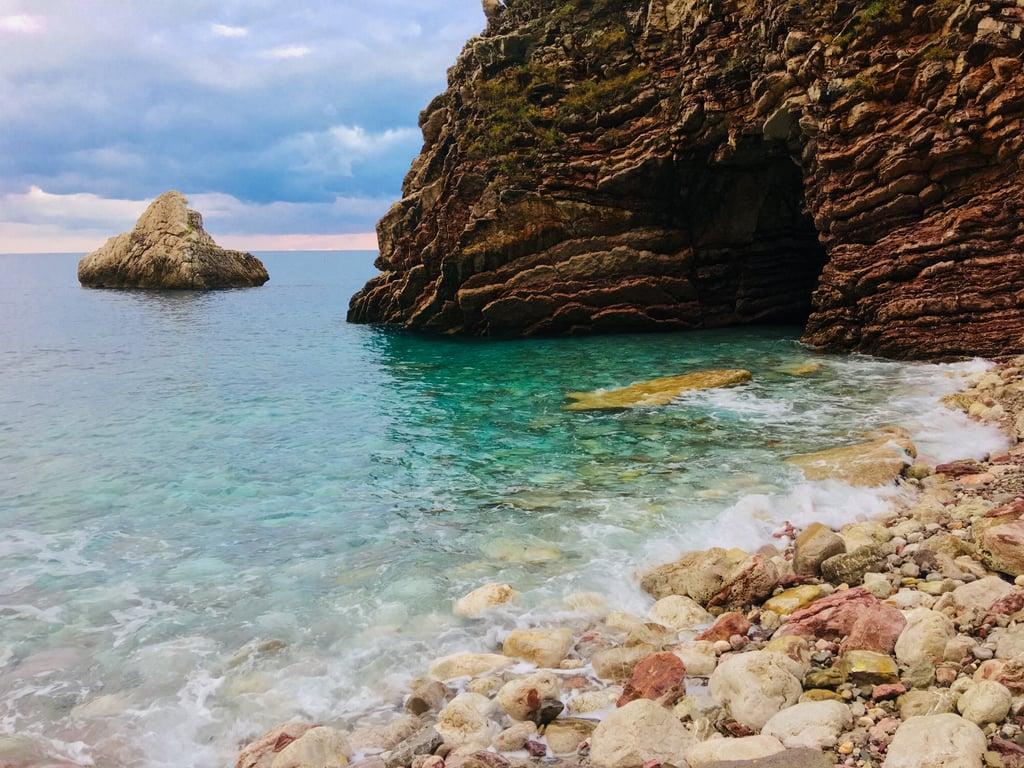 Swim in a Natural Cave