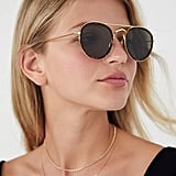 Urban Outfitters Vintage Ace Round Aviator Sunglasses