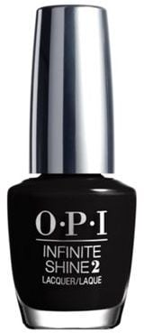 OPI 'Infinite Shine- We're in the Black' nail polish  (£14)