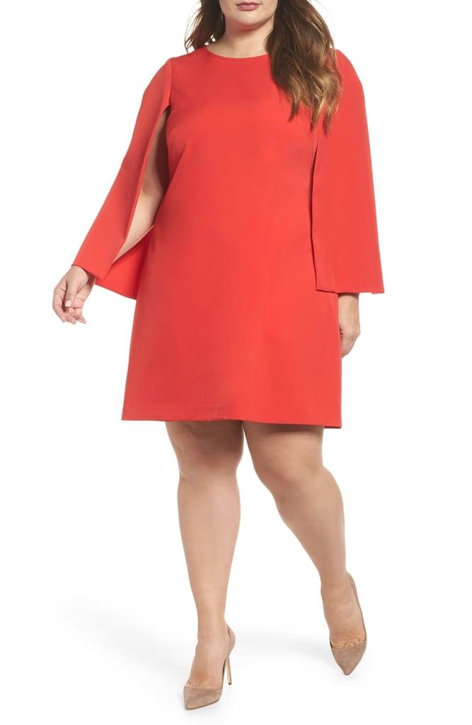 Our Pick: Eliza J Jewel Neck Cape Sleeve Dress