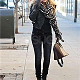 Blake Lively strolled solo.