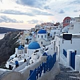 Find the Blue-Domed Churches of Oia