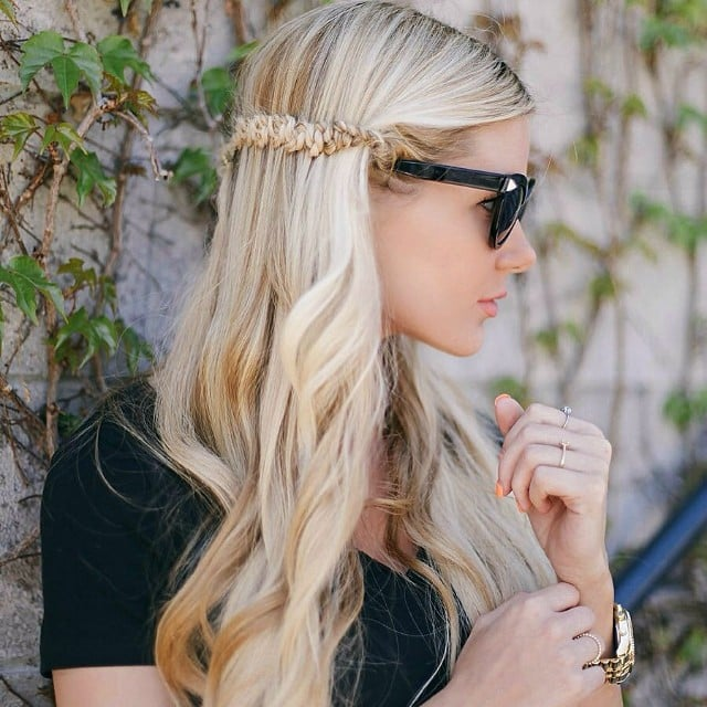 Stupendous Braided Half Up Hairstyle 43 Braids From Instagram To You Will Hairstyle Inspiration Daily Dogsangcom