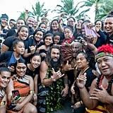 Jason Momoa Does Haka at Aquaman Hawaii Premiere Video 2018