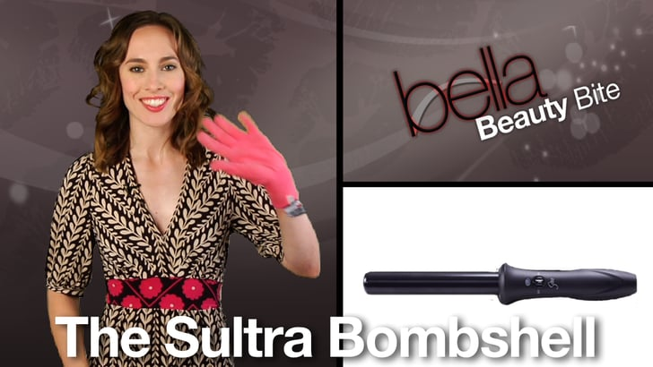 Sultra Bombshell Curling Iron Product Review Popsugar Beauty