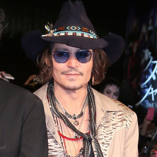 Johnny Depp Pictures at Tokyo Dark Shadows Premiere