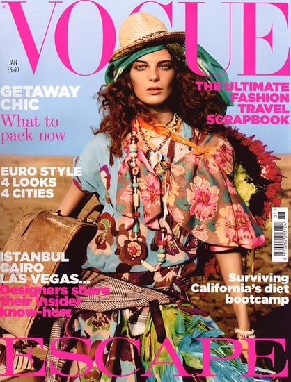 Daria Werbowy Vogue covers